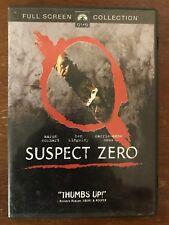 Suspect Zero (DVD, 2005)*Aaron Eckhart