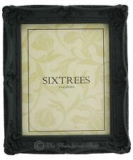 "Shabby & Chic Vintage Ornate Antique Matt Black Photo frame for a 10""x8"" Picture"