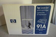 NEW Genuine HP 92291A 91A HP LaserJet IIISi 4Si Black Ink Toner Cartridge