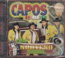 Los Capos De Mexico Con Norteno Banda Vol 12 CD New Nuevo sealed Sellado