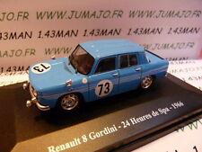 Voiture 1/43 Eligor/ UH Hachettes : RENAULT sport : R 8 gordini 24 H Spa 1966