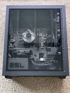 NVIDIA GT 730 HP Omen 25L Desktop Computer AMD Ryzen 5 3500 RAM 8GB SSD 256GB