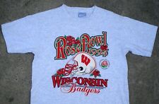 Vtg 1994 Wisconsin Badgers Rose Bowl T-Shirt Size M Usa College Football
