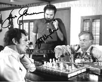 THE ROCKFORD FILES CAST SIGNED AUTOGRAPH 8x10 RP PHOTO JAMES GARNER BEERY MARGOL