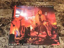 Stuart Hamm Rare Hand Signed Vinyl Record Kings Of Sleep Bass Guitar Legend Stu