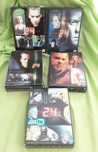 24 Season Series 2-6 DVD Box Set Bundle Classic American TV Crime Show
