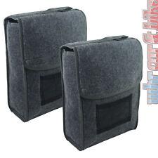 2x eufab maletero bolso allroundtasche robusto aguja fieltro cinta de velcro fijación