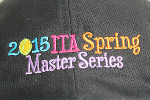 2015 ITA Spring Master Series Black Baseball Cap Hat With Embroidery