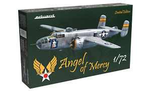 """EDUARD 2140 US Bomber B-25J Mitchell """"Angel of Mercy"""" in 1:72 LIMITED"""