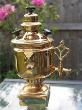 Antique 19th Russian Kuznetsov Gold Porcelain Samovar