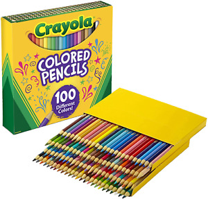 Crayola Colouring Pencils Pack 100