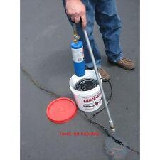125 ft  Black Permanent Asphalt/Concrete Driveway/Blacktop Crack Filler Repair