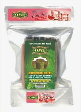 Palm Leaf Flavored Organic Natural Leaf Handmade- 10 Wraps with stick Brand -OME