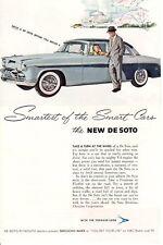 1950s Vintage print ad Car De Soto Smartest of the Smart Cars Drive a De Soto