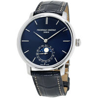 Frederique Constant Manufacture Automatic Movement NavyDial Mens Watch FC705N4S6