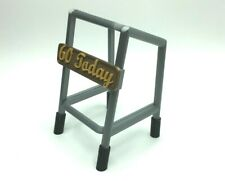 Old Person OAP Walking / Zimmer Frame Cake Topper Joke Prop -Can Be Personalised
