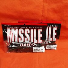 Missile Baits D Stroyer (6Pk)Green Pumpkin Flash Mbds70-Gpf (2Pk'S)