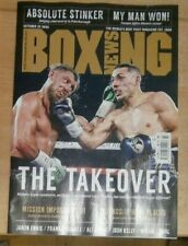 Boxing News magazine 22nd Oct 2020 Lopez outfights Lomachenko +Brook v Crawford?