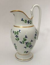 Lenox Paris French Porcelain Pitcher Reproduction Smithsonian Institute Floral