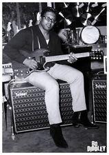 Poster BO DIDDLEY - Sitting Guitar - London 1967 ca60x85cm 15429
