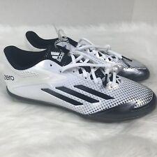 ADIDAS Adizero Afterburner 2.0 Metal Baseball Cleats Shoes White S85704 Size 8