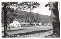<A3> CALIFORNIA Ca Postcard Real Photo RPPC c1950 MILL CREEK St Bernard Lodge