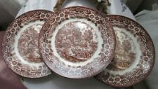 Unboxed 1960-1979 Date Range Staffordshire Pottery Dinner Plates