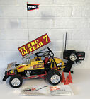 Vintage RC Tyco Turbo Outlaw Sprint Car Works W Instructions & Cones #7