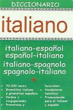 DICCIONARIO ITALIANO ESPAÑOL ITALIANO. ENVÍO URGENTE (ESPAÑA)