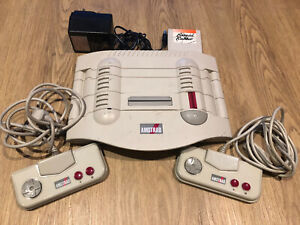 Amstrad GX4000 Retro Game Console & Burnin' Rubber - Fully Working