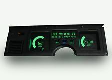 C3 Corvette 1984-1989 LED Digital Dash Gauge Instrument Cluster Direct Fit Green