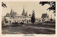 B95374 burmese pavilion real photo myanmar burma