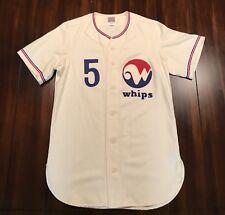 Rare Ebbets Field Flannels Winnipeg Whips Baseball Jersey