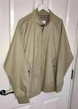 BEN SHERMAN MENS HARRINGTON JACKET SIZE XXL