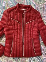 Laundry by Shelli Segal red Puffer Jacket size XL