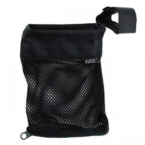 Brass Shell Catcher Heat Resistant Nylon, Zippered Bottom Black Color USA Seller