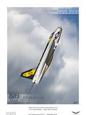 111 Squadron English Electric Lightning F.3 Digital Art Print