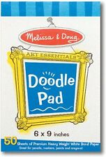 New!! Melissa & Doug Art Essentials Doodle Easel Paper Pad 4107 - Free Shipping!