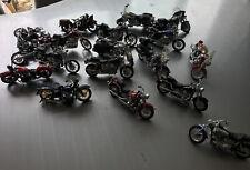 Large Bundle Of maisto model motorbikes X18
