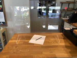 Sneeze Guard Acrylic Plexiglass Table Protective Shield