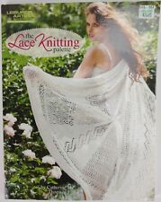 Leisure Arts The Lace Knitting Palette trims edging patterns shawls wraps New