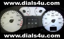 RENAULT CLIO Mk2 / Mk3  (1998-2006) - 140mph or 160mph - WHITE DIAL KIT