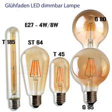 Filament Glühbirne E27 / B22 LED Edison Vintage Retro Lampe Glühlampe Warmweiß