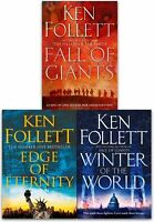 Ken Follett Century Trilogy Collection 3 Books Set Edge of Eternity, Winter-New