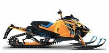 2021 Arctic Cat Riot X 8000 Qs3 Es, Woody's Orange / Blue with 3 Miles available