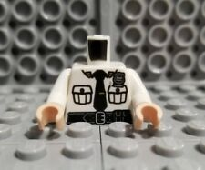 LEGO City Police Officer Security Guard Flesh Hands White Minifigure Torso