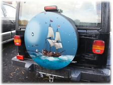 Parafanghi delle ruote pneumatici COVER barca 68x21cm HONDA CR-V SUZUKI VITARA SAMURAI Jimmy 4x4