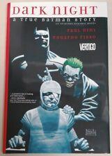 GRAPHIC NOVEL - *1st Print HB* DC Vertigo Dark Night A True Batman Story Dini