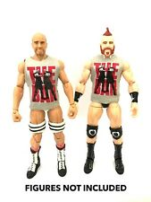 "WWE Sheamus & CESARO ""le bar"" Custom shirts pour Mattel figures."