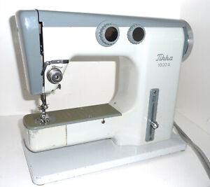 Vintage white TIKKA TIKKAKOSKI 1000 sewing machine collectible  free arm